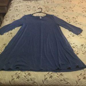 Zenana premium knit midi dress 3/4 sleeve